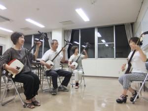 8/19積志のお稽古風景
